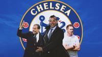 Chelsea - Massimiliano Allegri, Andriy Shevchenko, Julian Nagelsman (Bola.com/Adreanus Titus)
