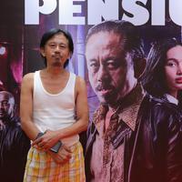 Preskon dan Screening film Preman Pensiun (Deki Prayoga/Fimela.com)