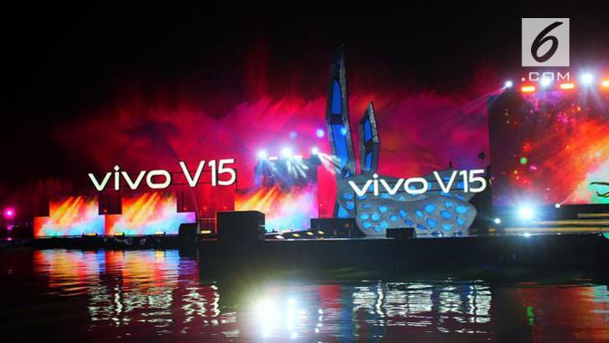 Vivo V15 resmi diluncurkan. (Liputan6.com/ Abramena)
