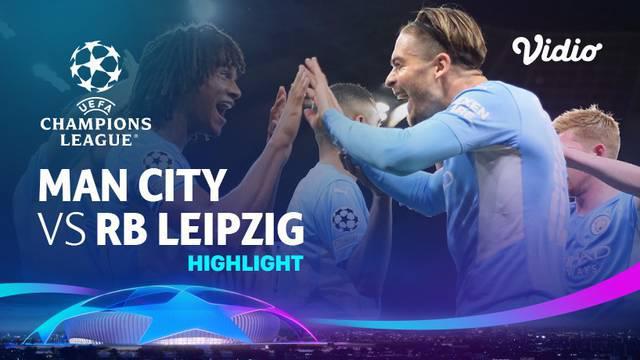Berita video highlights laga matchday 1 Grup A Liga Champions 2021/2022 antara Manchester City menghadapi RB Leipzig yang berakhir dengan skor 6-3, Kamis (16/9/2021) dinihari WIB.