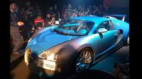 Bugatti Veyron resmi hadir di Indonesia melalui Prestige Image Motorcars. (Yurike/Liputan6.com)