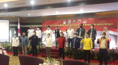 Deklarasi Damai Pilwalkot Medan