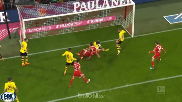 Berita video gol-gol kemenangan Bayern Munchen saat menghadapi Borussia Dortmund dalam lanjutan Bundesliga 2017-2018. This video presented by BallBall.