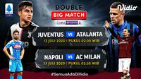 Double big match Serie A di pekan ke-32. (Sumber: Vidio)