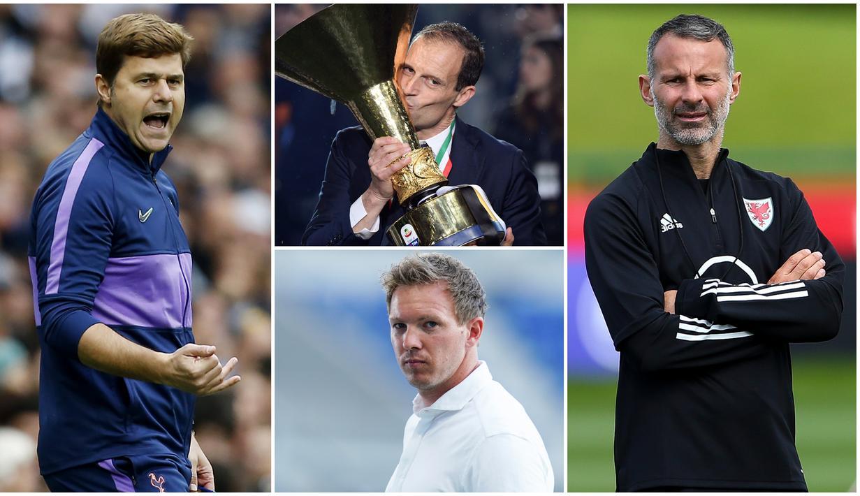 Serangkaian hasil buruk yang dialami Manchester United membuat posisi Ole Gunnar Solskjaer sebagai pelatih kini berada di ujung tanduk. Berikut ini lima pelatih yang layak menggantikan Solskjaer.
