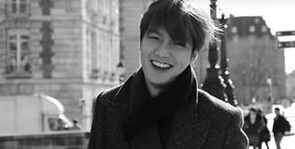 """Lee Min Ho seorang ator Korea yang sedang membintangi sebuah drama berjudul """"The Legend of The Blue Sea"""", bercerita soal lawan mainnya yang bernama Jun Ji Hyun. (Instagram/leeminho_87)"""