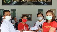 Syukuran Greysia/Apriyani Bersama Karyawan PBSI