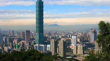 Gedung Taipei 101.