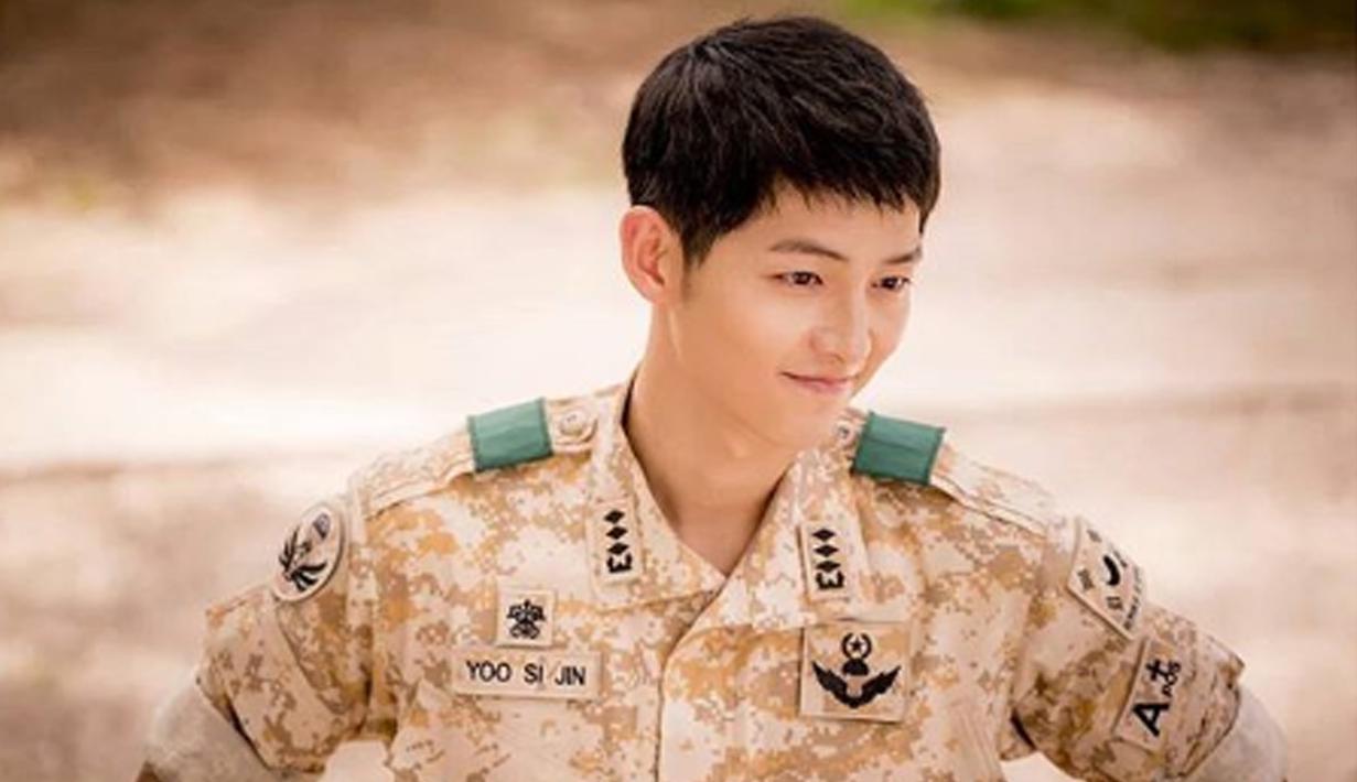 Bagi para pecinta drama korea tentu masih ingat  bagaimana tampannya Song Joong Ki saat mengenakan baju Militer. (Liputan6.com/IG/songjoongkionly)