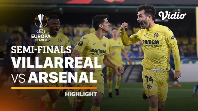 Berita video highlights leg I semifinal Liga Europa antara Villarreal melawan Arsenal yang berakhir dengan skor 2-1, Jumat (30/4/2021) dinihari WIB.