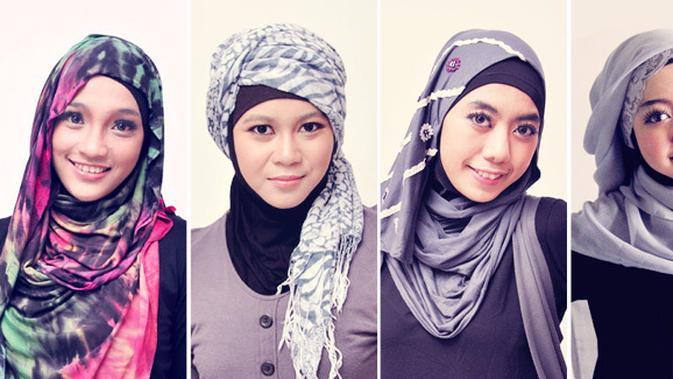 Tutorial Jilbab Simpel Sehari Hari Beauty Fimela Com