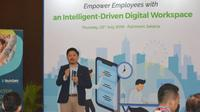 Panji Bisma Agrika, Country Sales - Digital Workspace VMware Indonesia di seminar 'Empower Employees with an Intelligent-Driven Digital Workspace' . Dok: VMware Indonesia
