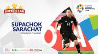 Superstar Asian Games, Supachok Sarachat. (Bola.com/Adreanus Titus)
