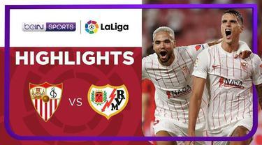 Berita video highlights Liga Spanyol, Erik Lamela Bawa Sevilla Menang atas Rayo Vallecano 3-0, Senin (16/8/21)