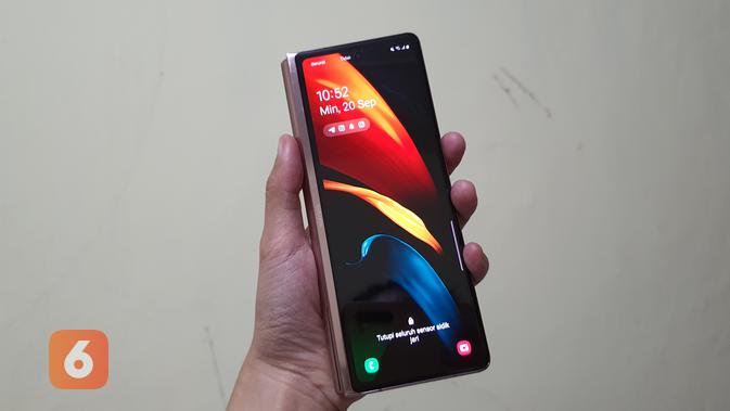 Galaxy Z Fold 2, smartphone layar lipat ketiga Samsung sekaligus sebagai penerus Galaxy Fold (Foto: Samsung)
