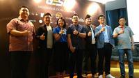 Jumpa pers turnamen GESC Indonesia Dota 2 Pro Circuit Minor di Jakarta, Kamis (1/3/2018). Liputan6.com/ Yuslianson