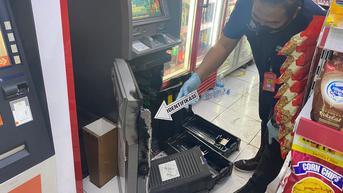 ATM dalam Minimarket di Serang Dijebol, Uang Rp304 Juta Raib Digondol Maling