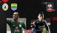 Piala Menpora 2021: Duel Irfan Jaya vs Febri Hariyadi. (Bola.com/Dody Iryawan)