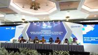 Pemaparan kinerja keuangan triwulan II tahun 2018 PT Bank Rakyat Indonesia Tbk (Foto:Merdeka.com/Yayu Agustini R)