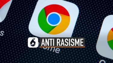 Sebagai dukungan terhadap perjuangan anti rasisme Google melalui aplikasinya, Chrome mengganti pengkodean 'Blacklist' menjadi 'Blocklist'.