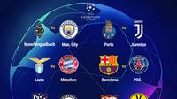 Liga Champions - Drawing 16 Besar (Bola.com/Adreanus Titus)
