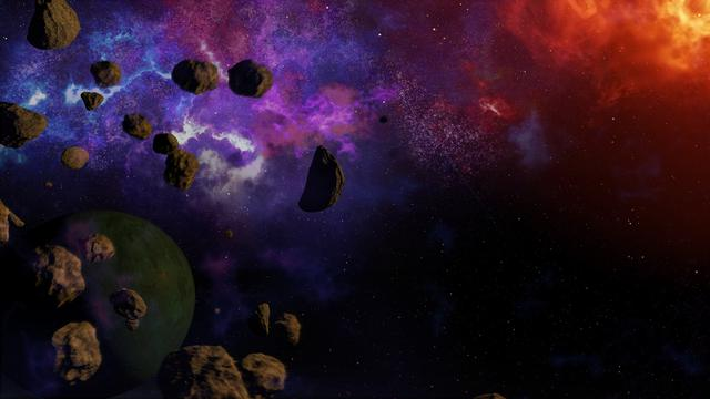 Contoh Asteroid