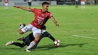 Bek Bali United, I Made Andhika Wijaya. (Bola.com/Iwan Setiawan)