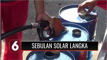 VIDEO: Sudah Sebulan Solar Langka di Sejumlah Pulau Jawa dan Sumatera, Puluhan Truk Antre di SPBU