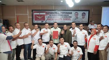 Paslon Sumsel Dodi-Giri Banjir Dukungan dari Partai Politik Baru