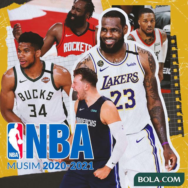 Link Live Streaming 2 Pertandingan NBA Hari Ini, Kamis 31 ...