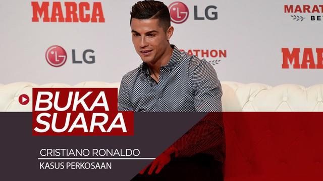 Berita video wawancara bintang Juventus asal Portugal, Cristiano Ronaldo, yang sempat menyinggung soal kasus perkosaan yang sempat menghampirinya.