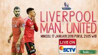 Liverpool vs Manchester United (Bola.com/Samsul Hadi)