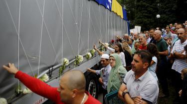20150709- Korban Pembantaian di Bosnia-Bosnia