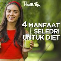 4 Manfaat Seledri untuk Diet