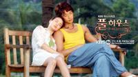 Full House merupakan drama komedi romantis. Drama yang fenomenal ini tayang pada tahun 2004. Jika kalian adalah penggemar Rain dan Song Hye Kyo, kalian harus menonton drama ini. (Foto: pinterest.com)