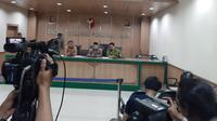 Bawaslu laporkan Wahyu Setiawan ke DKPP (Yopi/Liputan6.com)