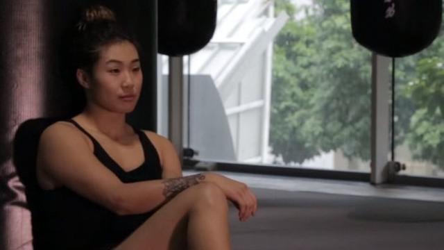 Berita video wawancara Angela Lee, salah satu petarung wanita di One Championship.