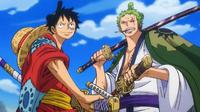 Luffy dan Zoro di One Piece Episode 897. (Toei Animation)