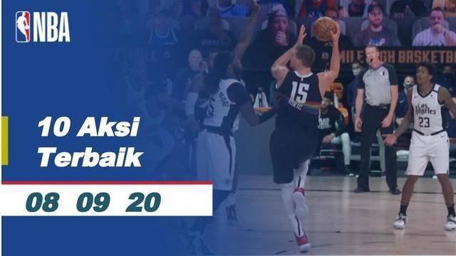Berita Video 10 Aksi Terbaik NBA 8 September 2020, Slam Dunk Jaylen Brown Bawa Boston Celtics Menang