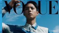 Park Bo Gum jadi sampul majalah Vogue Korea edisi Agustus 2020. (dok. Instagram @voguekorea/https://www.instagram.com/p/CCpn5iSHhTV/)