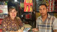 Miranda Arisona Sirumapea, Relationship Manager (RM) Kredit PT Bank Rakyat Indonesia Tbk (BRI) Kantor Cabang Palangkaraya, Kalimantan Tengah.