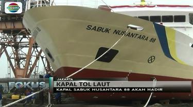 KMP Sabuk Nusantara 88, kapal tol laut produksi anak bangsa ini siap untuk berlayar. Apa saja keistimewaannya?