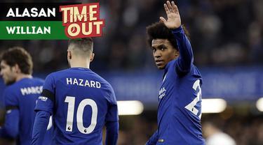 Berita video Time Out kali ini tentang Willian yang bisa hengkang ke Manchester United karena faktor kehadiran Antonio Conte sebagai manajer tim Chelsea.