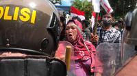 Warga Pulau Wawonii Demo (Ahmad Akbar Fua/Liputan6.com)