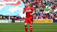 Sejak dilepas MU ke Chicago Maret 2017 lalu, Bastian Schweinsteiger berperan penting dalam membawa perubahan klub di papan klasemen.(Dylan Buell / GETTY IMAGES NORTH AMERICA / AFP)