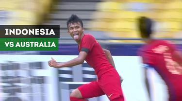 Berita video highlights Timnas Indonesia U-16 vs Australia U-16 pada perempat final Piala AFC U-16 2018, Senin (1/10/2018).