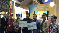 Opening Travel Fair di Jakarta yang mempromosikan Kota Taipe sebagai kota ramah Muslim. Jumat 20/9/2019 (Liputan6.com/Windy Febriana)