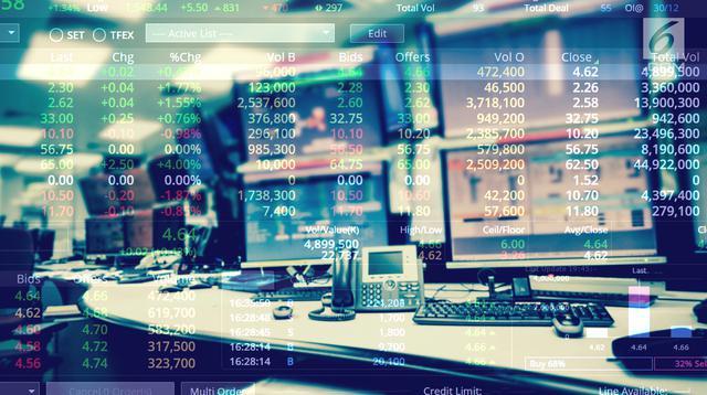 Ilustrasi Foto Perdagangan Saham dan Bursa (iStockphoto)