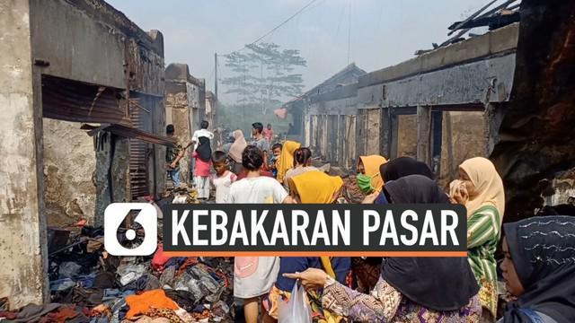 Kebakaran yang terjadi di Pasar Baros Pandeglang Banten, menghanguskan 250 kios milik warga. Hanya 6 kios yang luput dari kebakaran. Pihak UPT Baros kini tengah mendata kios dan barang dagangan warga.  Diduga kebakaran akibat puntung rokok.
