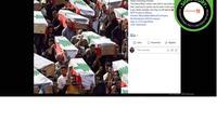 Hoaks korban ledakan Lebanon. (Facebook/Loving Kidness)